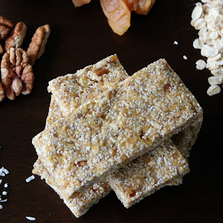 Peach Coconut Energy Bars