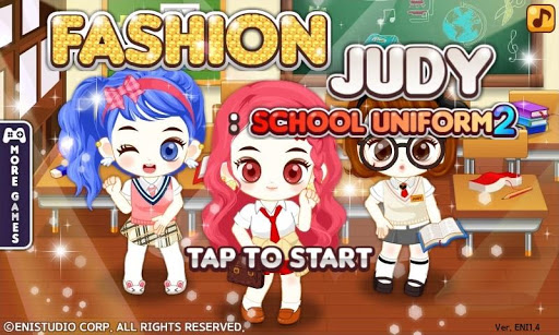 Fashion Judy : School uniform2