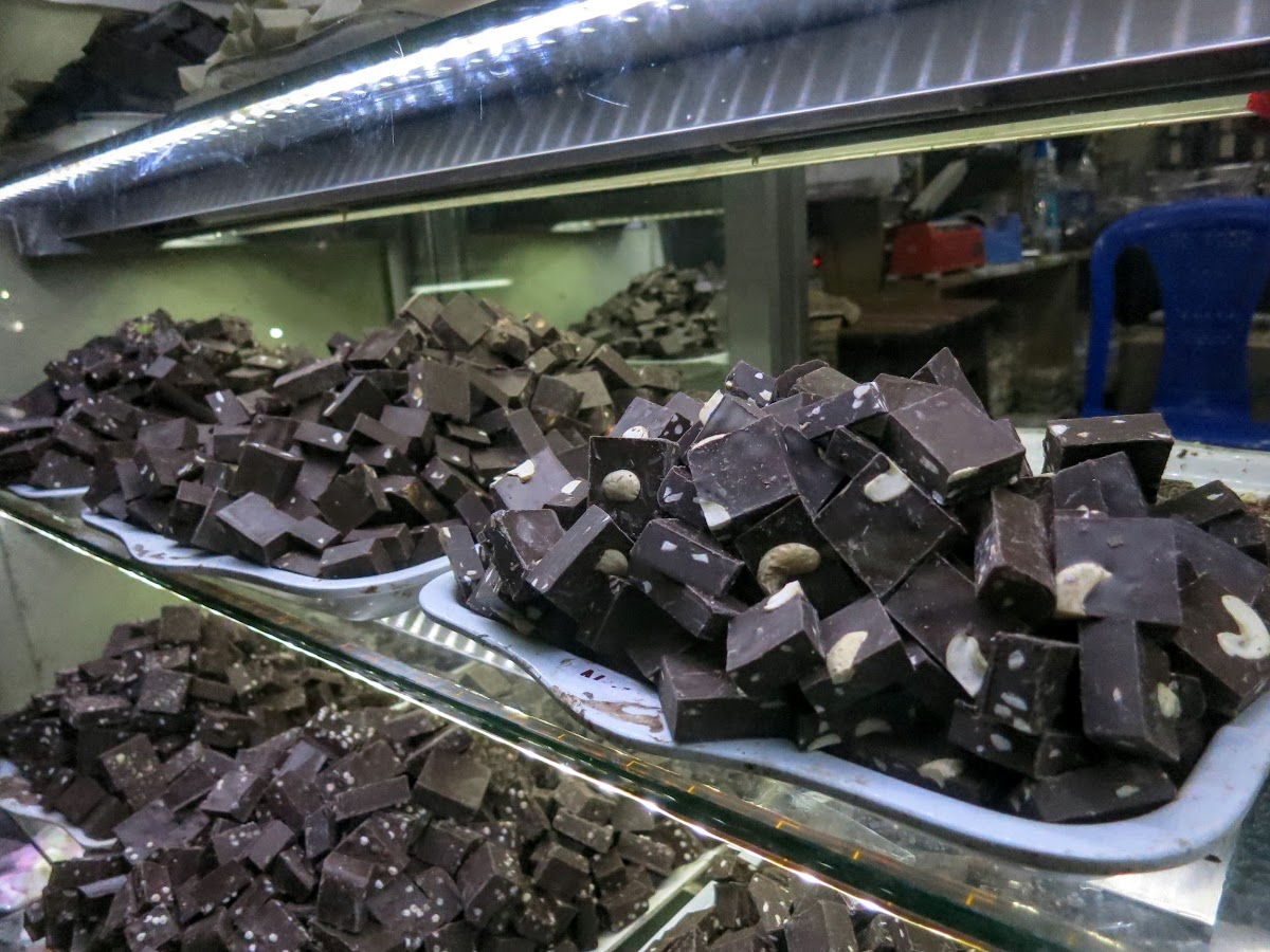 India. Kerala Motorbike Road Trip. Munnar Local Chocolate