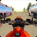 Moto Heavy Traffic Racer: Bike Racing Stunts icon