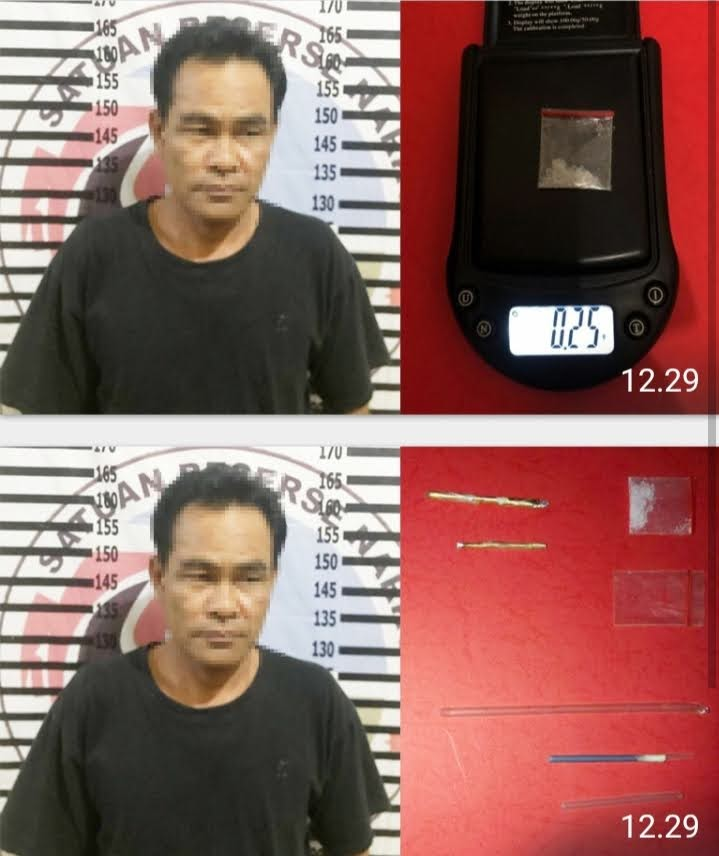 Bandar Narkotika Asal Pendowo Asri Ditangkap Polres Tulang Bawang