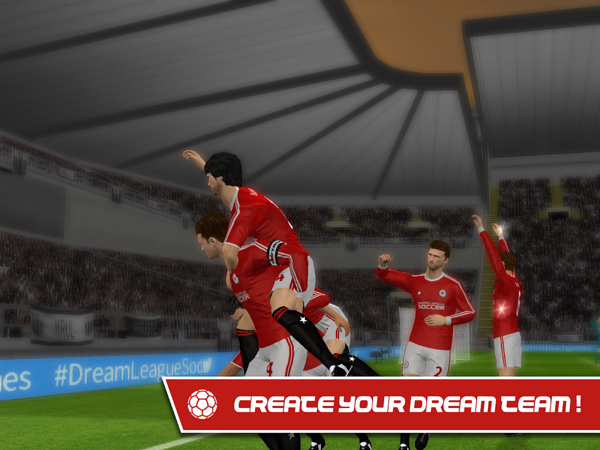 Screenshots of Dream League Soccer 2016 for iPhone