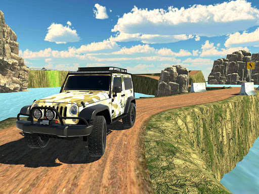 Offroad Jeep Army SUV Mountain Driving Simulator 1.3 screenshots 6