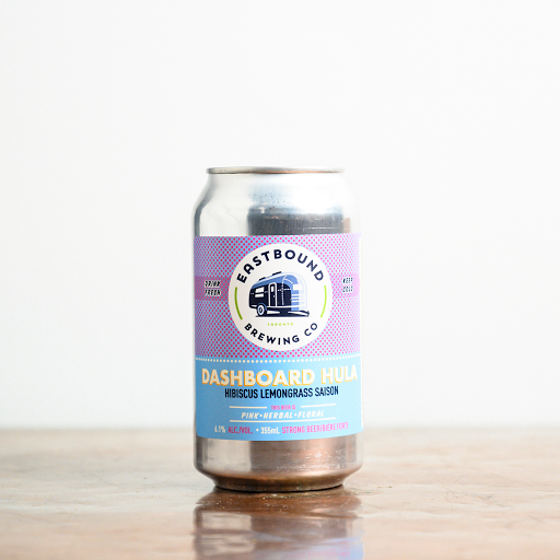 Eastbound Brewing: Dashboard Hula Hibiscus & Lemongrass Saison