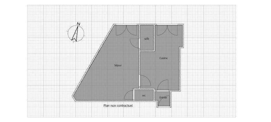 Vente studio 1 pièce 26.2 m² à Paris 18ème (75018), 217 000 €