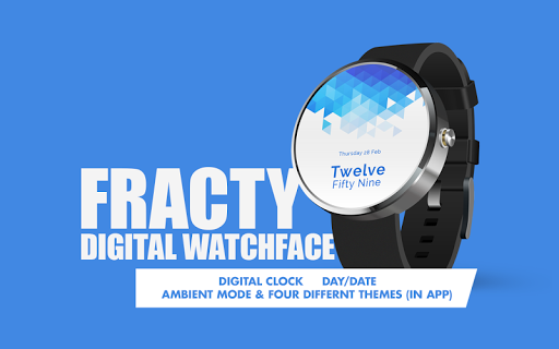 Fracty Free Digital Watch Face