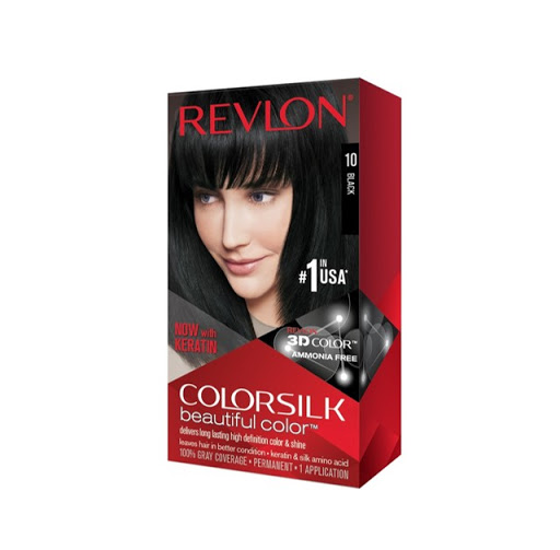 tinte revlon color silk negro 10