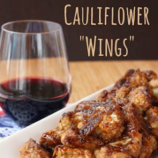 "Balsamic Glazed Cauliflower ""Wings"""