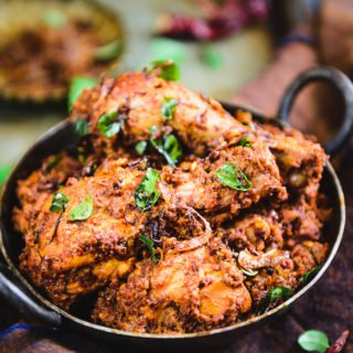 Mangalorean Chicken Sukka