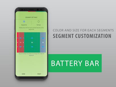 Battery Bar : Energy Bars on Status bar 3.3 (MOD + APK) Download 2