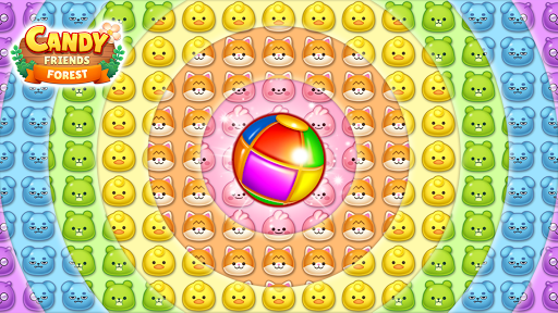 Candy Friends Forest : Match 3 Puzzle 1.1.4 screenshots 2
