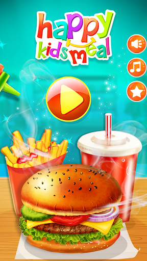 Happy Kids Meal Maker - Burger Cooking Game 1.2.6 Screenshots 5