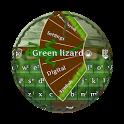 Green lizard GO Keyboard icon