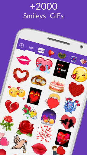 ud83dudc98 WhatsLov: Smileys of love, stickers and GIF 4.3.0 screenshots 2