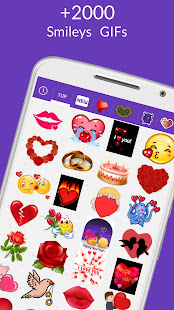 💘 WhatsLov: Smileys of love, stickers and GIF 2