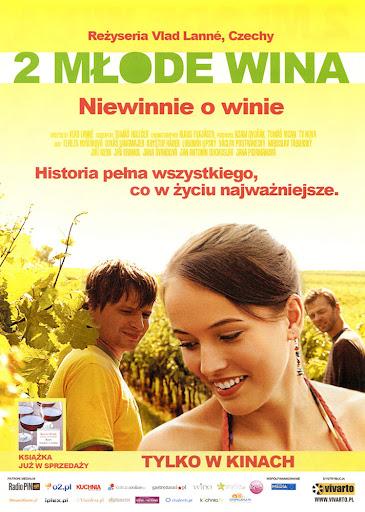 Przód ulotki filmu '2 Młode Wina'