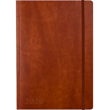 Stor Veckokalender Forma brun