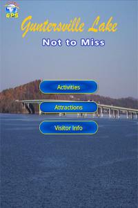 Lake Guntersville Gps Fishing Screenshot 12