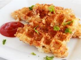 Hash Browns In The Waffle Iron Recipe