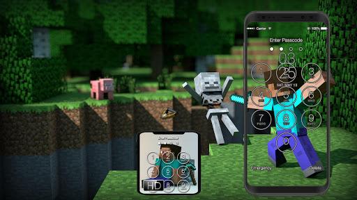 Lock Screen for Minecraft Fans 1.5 screenshots 3