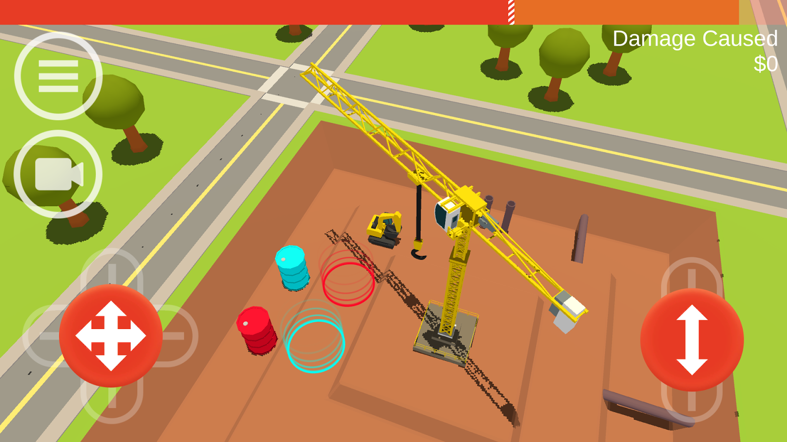 Hooked! A Tower Crane Game- screenshot
