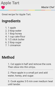 Apple Tart Recipes ? Cooking Guide Handbook - náhled