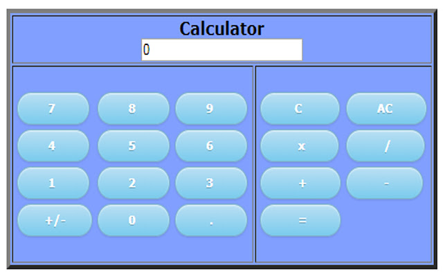 calculator simple and easy