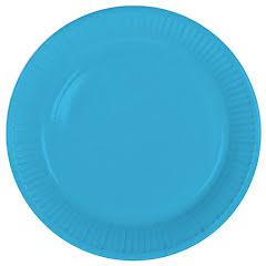 Tallrik, blå