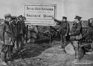 Photo: A Salvage Dump On The British Western Front