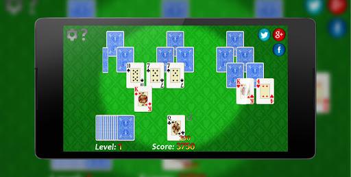 TriPeaks Solitaire ♣ Free Card Game  captures d'écran 4