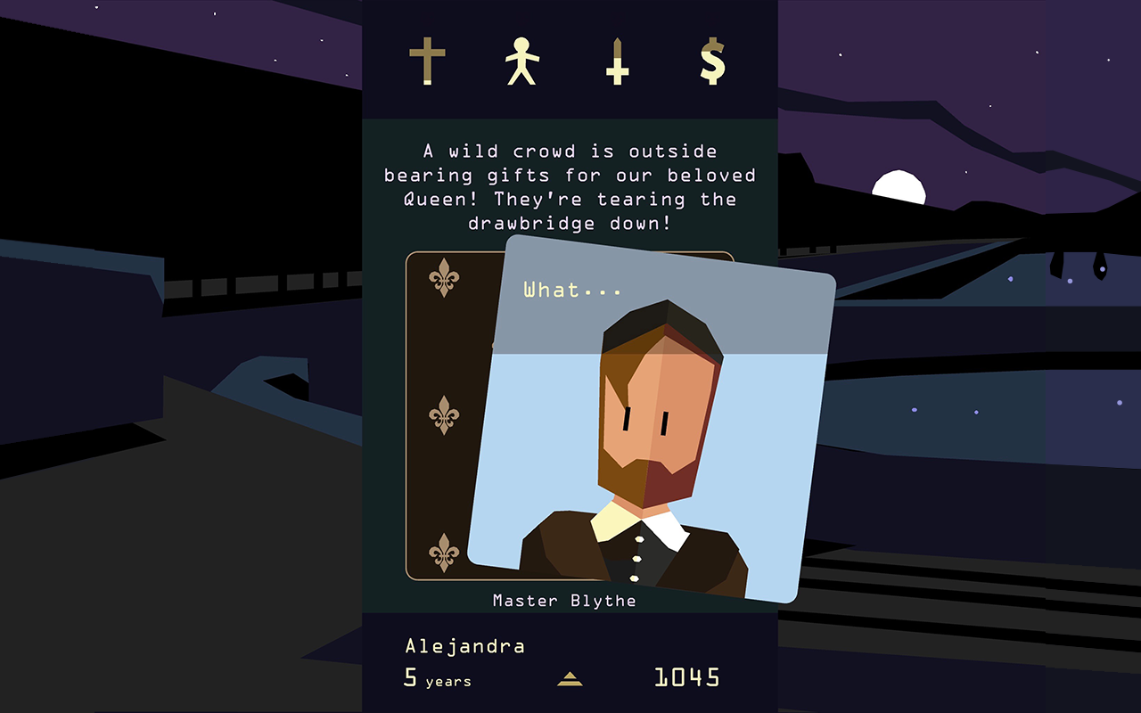 Reigns: Her Majesty- screenshot