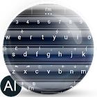 Theme for A.I.type Glass Blue icon