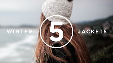 Five Winter Jackets - YouTube Thumbnail Template