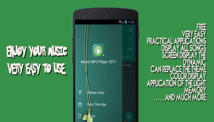MP3 Music Player 2017 - screenshot