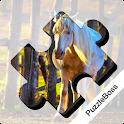 Jigsaw Puzzles: Horses