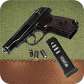 The Makarov pistol icon