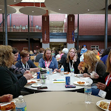 Photo: Enjoying a great lunch from Toppers with the #gbaps #gbedchat contingent at #edcampmke by mrgfactoftheday