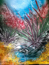 "Photo: Under the Sea mixed media art - 14""x11"" - unframed  SOLD"