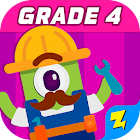 4th Grade Math: Fun Kids Games - Zapzapmath Home icon