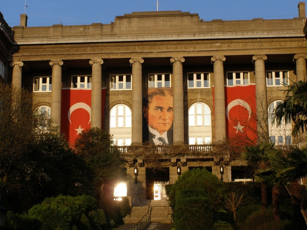 Gould Hall, Robert College. From You must only to love them: Lessons Learned in Turkey
