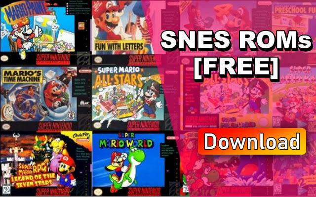 SNES ROMs - Search Super Nintendo ROMs