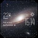 Galaxy2 weather widget/clock icon