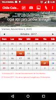 Screenshot of Chile Calendario 2015