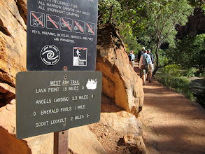 Photo: The hike to Angel's Landing is only 5 miles round-trip
