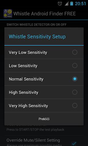 Whistle Phone Locator screenshot 3