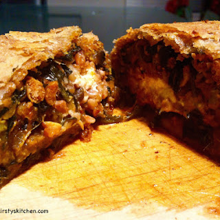 Nut Roast Roll In Puff Pastry