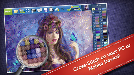 Cross-Stitch World 1.4.5 screenshots 6