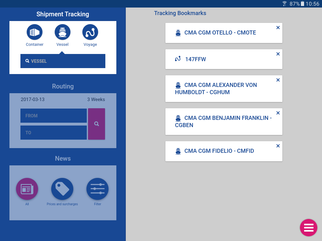 CMA CGM- screenshot
