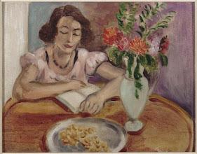 """Photo: Henri Matisse, """"Donna che legge"""""""
