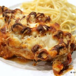 Weeknight Baked Chicken Parmesan
